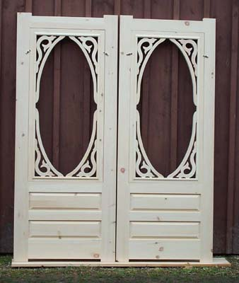 Peachy Wood Screen Door Wooden Combination Storm Doors Authentic Largest Home Design Picture Inspirations Pitcheantrous
