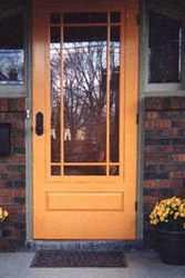 Wood Screen Door Wooden Combination Storm Doors