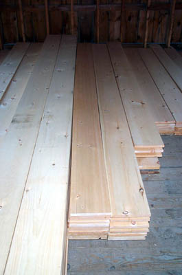 Quality Pine Board And Batten Clear Common Pine Fir