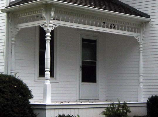 Victorian Porch Wood Post Turning And Railing Products