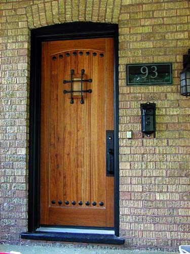 Solid Wood Doors Door Custom Built Made Most Any Size Door